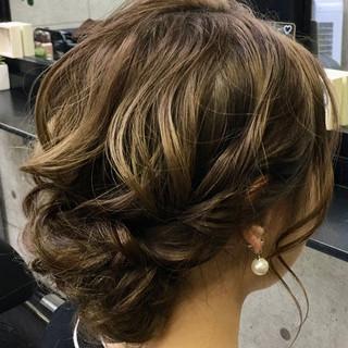 卒業式 ロング ヘアアレンジ ヘアセット ヘアスタイルや髪型の写真・画像