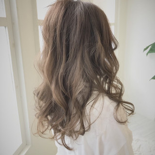 透明感 セミロング 大人かわいい ラフ ヘアスタイルや髪型の写真・画像