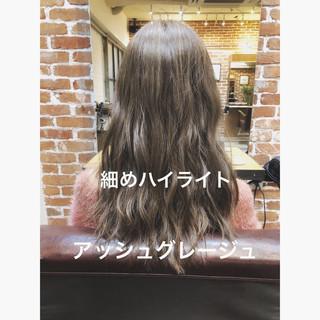 パーマ アンニュイほつれヘア イルミナカラー デジタルパーマ ヘアスタイルや髪型の写真・画像