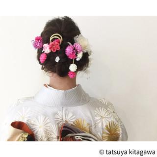 花嫁 ゆるふわ 成人式 結婚式 ヘアスタイルや髪型の写真・画像 ヘアスタイルや髪型の写真・画像