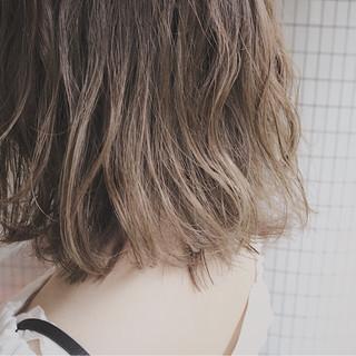イルミナカラー ナチュラル 大人かわいい 透明感 ヘアスタイルや髪型の写真・画像