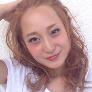 ハイライト 外国人風 ストリート ヘアアレンジ ヘアスタイルや髪型の写真・画像