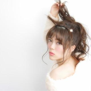 ピュア 愛され モテ髪 ヘアアレンジ ヘアスタイルや髪型の写真・画像 ヘアスタイルや髪型の写真・画像
