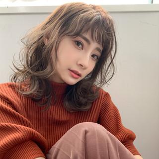 ショコラブラウン ミルクティーブラウン ナチュラルブラウンカラー ガーリー ヘアスタイルや髪型の写真・画像