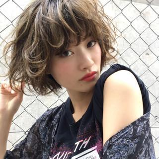 かわいい 夏 ゆるふわ ストリート ヘアスタイルや髪型の写真・画像