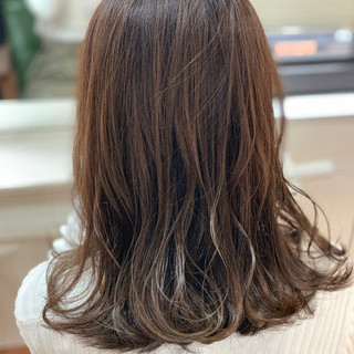 デート ベージュ イルミナカラー TOKIOトリートメント ヘアスタイルや髪型の写真・画像