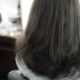 ストリート 暗髪 アッシュ ベージュ ヘアスタイルや髪型の写真・画像