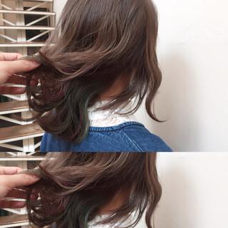 ゆるふわ ハイライト ストリート 暗髪 ヘアスタイルや髪型の写真・画像