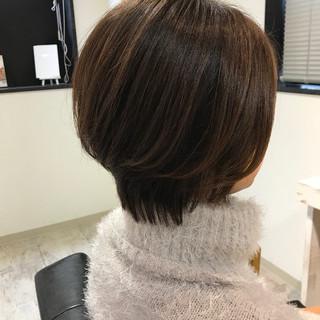 フェミニン モテ髪 ショート 愛され ヘアスタイルや髪型の写真・画像 ヘアスタイルや髪型の写真・画像