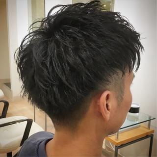 ストリート ツーブロック メンズ フェードカット ヘアスタイルや髪型の写真・画像
