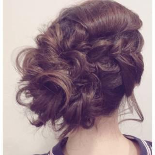 簡単ヘアアレンジ ナチュラル 夏 ヘアアレンジ ヘアスタイルや髪型の写真・画像 ヘアスタイルや髪型の写真・画像