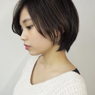 色気 ボブ 抜け感 ナチュラル ヘアスタイルや髪型の写真・画像 ヘアスタイルや髪型の写真・画像