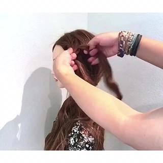 ロング アウトドア リラックス 上品 ヘアスタイルや髪型の写真・画像