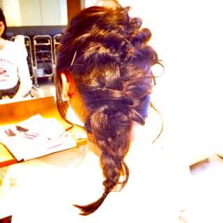 愛され 大人かわいい コンサバ 簡単ヘアアレンジ ヘアスタイルや髪型の写真・画像