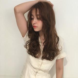 ウェーブ アンニュイ ガーリー ロング ヘアスタイルや髪型の写真・画像 ヘアスタイルや髪型の写真・画像