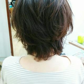 大人かわいい アッシュ コンサバ ミディアム ヘアスタイルや髪型の写真・画像 ヘアスタイルや髪型の写真・画像