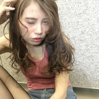 外国人風 大人かわいい グラデーションカラー ストリート ヘアスタイルや髪型の写真・画像