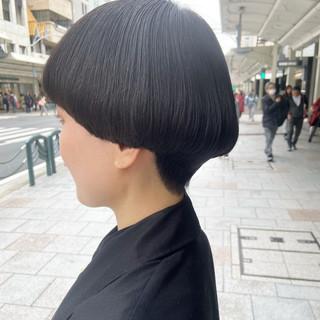 ショートマッシュ ショートヘア ボブ マッシュショート ヘアスタイルや髪型の写真・画像