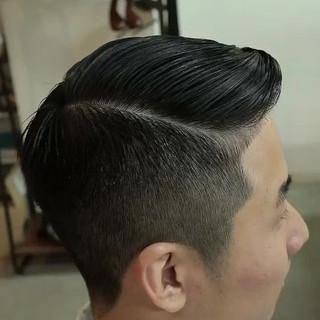ショート ストリート 刈り上げ スポーツ ヘアスタイルや髪型の写真・画像