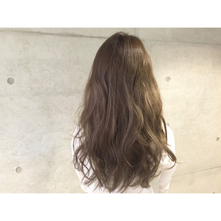 大人かわいい 外国人風 ナチュラル ロング ヘアスタイルや髪型の写真・画像