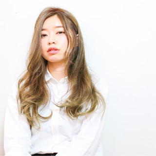 外国人風 モテ髪 春 ロング ヘアスタイルや髪型の写真・画像