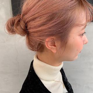 ガーリー ロング ハイトーン ハイトーンカラー ヘアスタイルや髪型の写真・画像