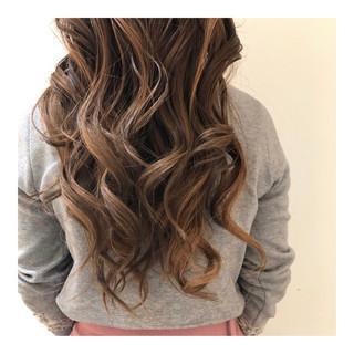 抜け感 ロング 外国人風カラー ヘルシー ヘアスタイルや髪型の写真・画像