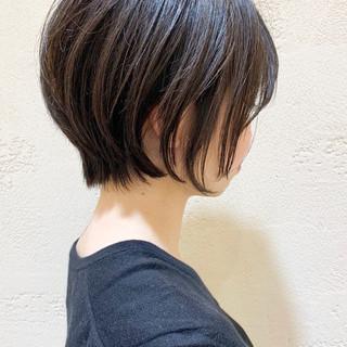 ショートボブ ショートヘア 大人かわいい ショート ヘアスタイルや髪型の写真・画像