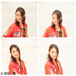 渋谷系 ハーフアップ ゆるふわ 大人かわいい ヘアスタイルや髪型の写真・画像