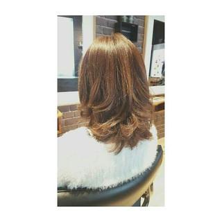 ミディアム ボブ 巻き髪 大人かわいい ヘアスタイルや髪型の写真・画像