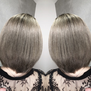 ハイライト アウトドア グラデーションカラー ブリーチ ヘアスタイルや髪型の写真・画像
