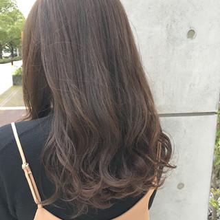 暗髪 デート セミロング 冬 ヘアスタイルや髪型の写真・画像