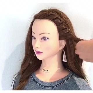 簡単ヘアアレンジ 夏 ロング 女子会 ヘアスタイルや髪型の写真・画像