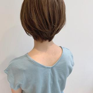 ガーリー ボブ オフィス パーマ ヘアスタイルや髪型の写真・画像