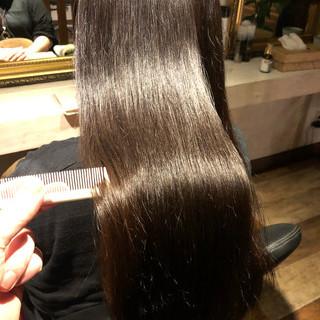 髪質改善カラー 髪質改善 ロング ナチュラル ヘアスタイルや髪型の写真・画像 ヘアスタイルや髪型の写真・画像