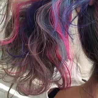 ロング 透明感 ガーリー スポーツ ヘアスタイルや髪型の写真・画像