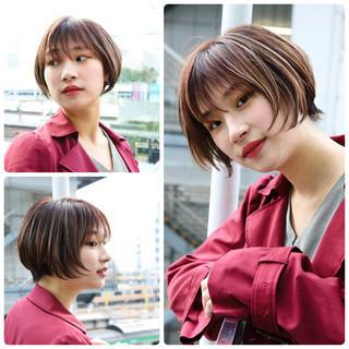 PEEK-A-BOO ナチュラル ハンサムショート 阿藤俊也 ヘアスタイルや髪型の写真・画像