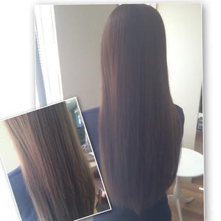 ストリート 大人かわいい 暗髪 春 ヘアスタイルや髪型の写真・画像