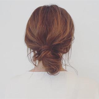 ナチュラル 簡単ヘアアレンジ 色気 デート ヘアスタイルや髪型の写真・画像