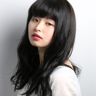前髪あり 就活 暗髪 黒髪 ヘアスタイルや髪型の写真・画像 ヘアスタイルや髪型の写真・画像