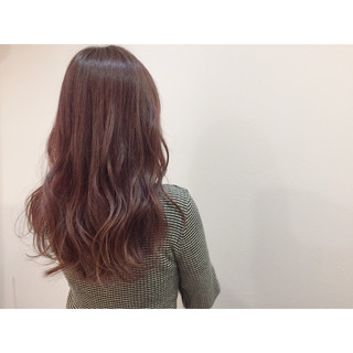 フェミニン 冬 グラデーションカラー ゆるふわ ヘアスタイルや髪型の写真・画像