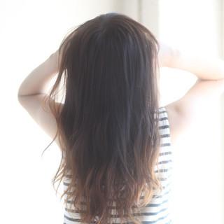 ナチュラル 透明感 フェミニン 大人かわいい ヘアスタイルや髪型の写真・画像