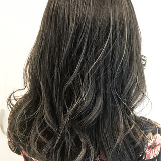 ウェーブ ロング 外国人風カラー ゆるふわ ヘアスタイルや髪型の写真・画像