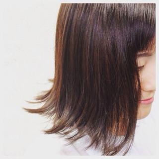 こなれ感 ブルージュ ナチュラル ボブ ヘアスタイルや髪型の写真・画像