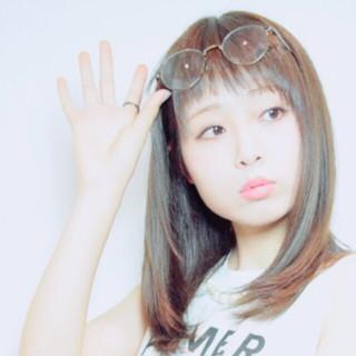 モテ髪 外国人風 ミディアム 大人かわいい ヘアスタイルや髪型の写真・画像