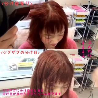 ふんわり セミロング 可愛い ナチュラル ヘアスタイルや髪型の写真・画像