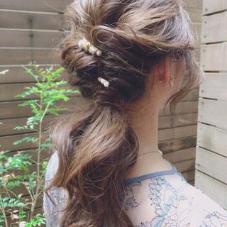 デート モテ髪 可愛い ヘアスタイルや髪型の写真・画像
