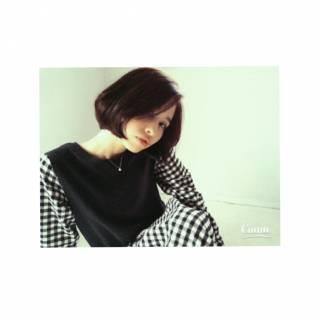 秋 モテ髪 ボブ ストレート ヘアスタイルや髪型の写真・画像 ヘアスタイルや髪型の写真・画像