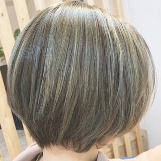 ミニボブ ボブ モード ショートヘア ヘアスタイルや髪型の写真・画像