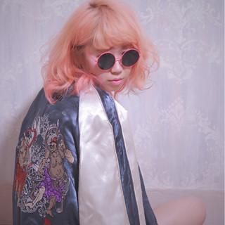 ショート 簡単ヘアアレンジ ボブ パーマ ヘアスタイルや髪型の写真・画像